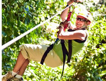 Zipline Canopy Tour in Boquete