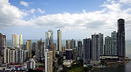 View of Panama City's skyline